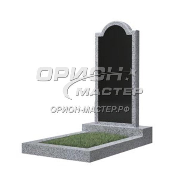 Памятник 10В из гранита фигурный 1000х450х50 Китай (Комбинированный)