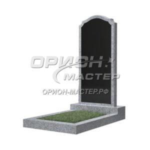 Памятник 11В из гранита фигурный 1000х450х50 Китай (Комбинированный)