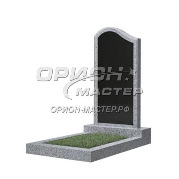 Памятник 14В из гранита фигурный 1000х500х50 Китай (Комбинированный)