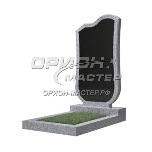 Памятник 15В из гранита фигурный 1000х500х50 Китай (Комбинированный)