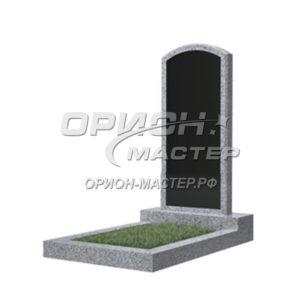Памятник 18В из гранита фигурный 1000х450х50 Китай (Комбинированный)