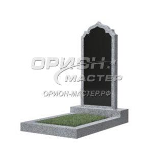 Памятник 19В из гранита фигурный 1000х450х50 Китай (Комбинированный)