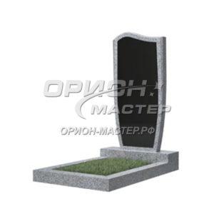 Памятник 21В из гранита фигурный 1000х450х50 Китай (Комбинированный)