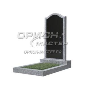 Памятник 22В из гранита фигурный 1000х500х50 Китай (Комбинированный)