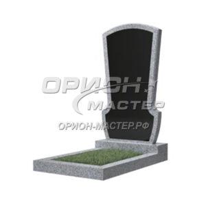 Памятник 23В из гранита фигурный 1000х500х50 Китай (Комбинированный)