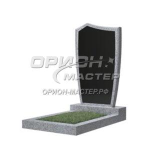 Памятник 29В из гранита фигурный 1000х500х50 Китай (Комбинированный)
