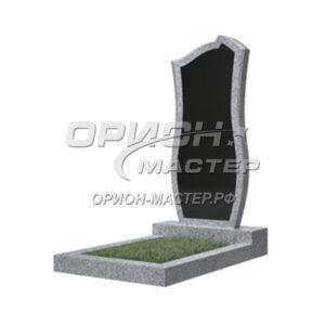 Памятник 41В из гранита фигурный 1000х450х50 Китай (Комбинированный)