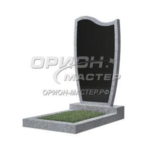 Памятник 42В из гранита фигурный 1000х500х50 Китай (Комбинированный)