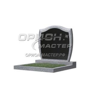 Памятник 46В из гранита фигурный 700х900х50 Китай (Комбинированный)
