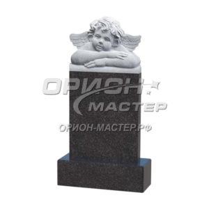 Резной гранитный памятник фигурный 8.1