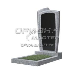 Памятник 81В из гранита фигурный 1000х500х50 Китай (Комбинированный)