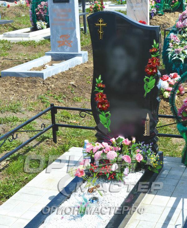 Крест №1 Лилия Свеча