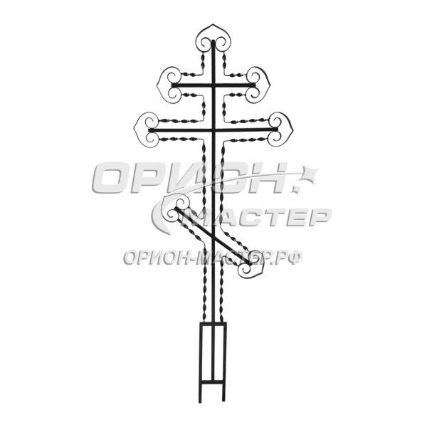 Крест надгробны из полосы №15