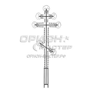Крест надгробны из полосы №16