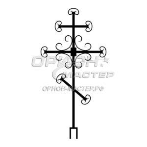 Крест надгробный сварной №4