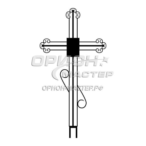 Крест надгробный сварной №5