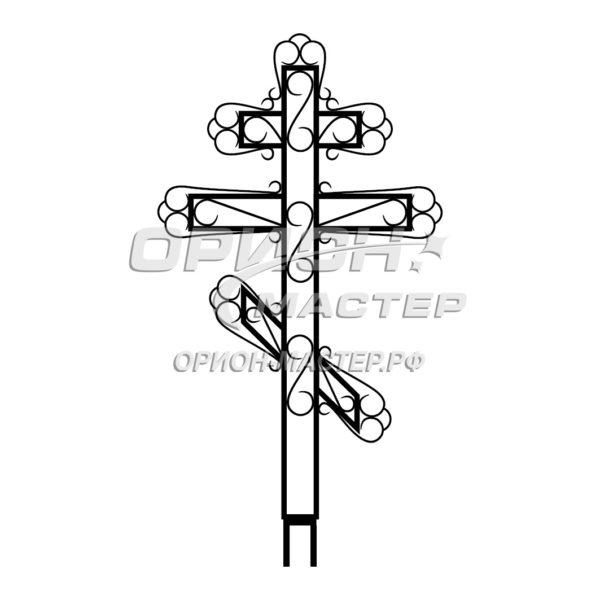 Крест надгробный сварной №6