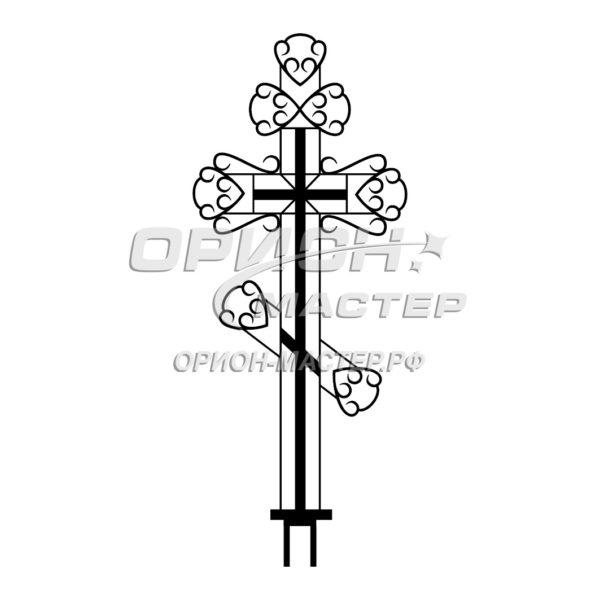 Крест надгробный сварной №9