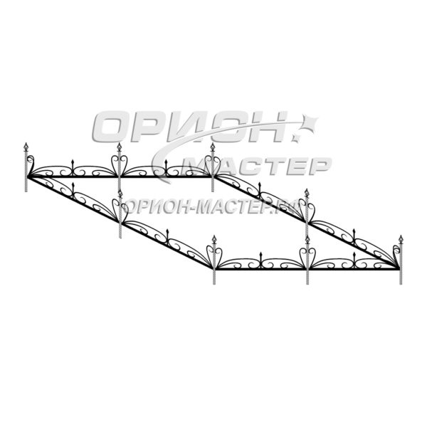 Ограда кованая К15